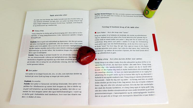 Krystal Healing – Det Røde Styrkeprogram