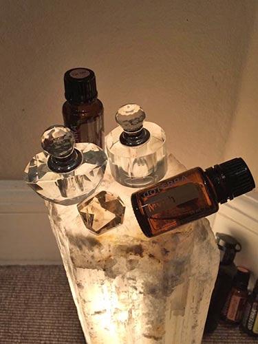 Æteriske olier glasflasker