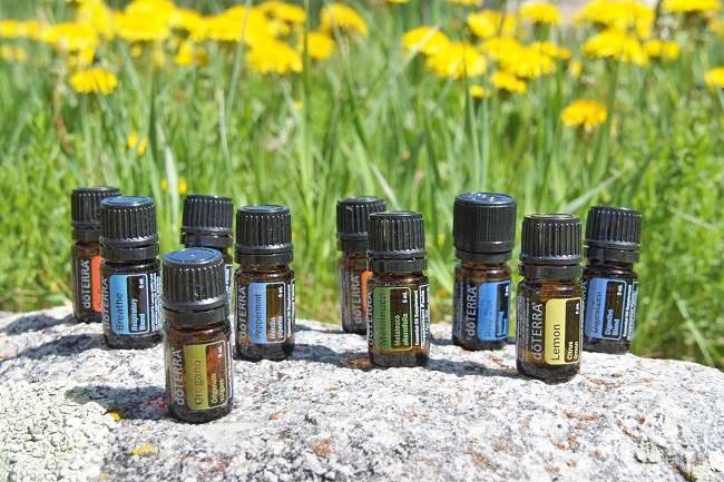 Healing og energi med æteriske olier
