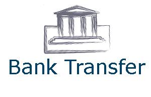 Bestil produkter med Bank transfer