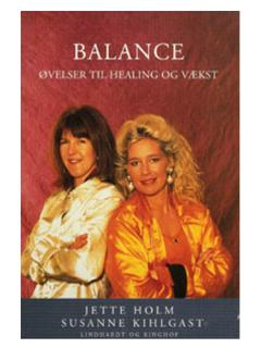 Bog på Jette Holm (Jette Holm) Balance
