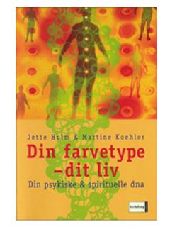 Bog på Jette Holm (Jette Holm)- Din farvetype