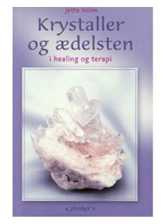 Bog på Jette Holm (Jette Holm) krystaller og ædelsten