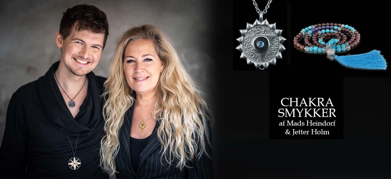 Chakra smykker af Mads Heindorf og Jetter Holm
